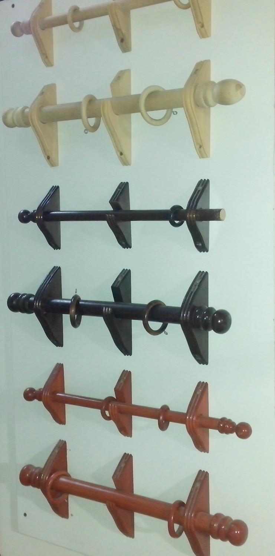 Barrales y accesorios for Accesorios para cortinas