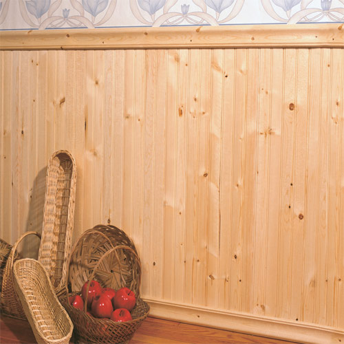 paneling de madera de pino - Revestir Paredes