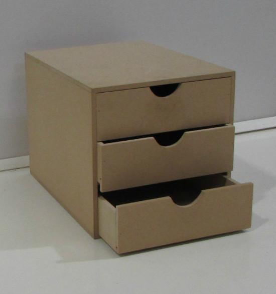 Producto cajonera de fibrofacil corralon maderas america for Muebles de oficina juarez salta