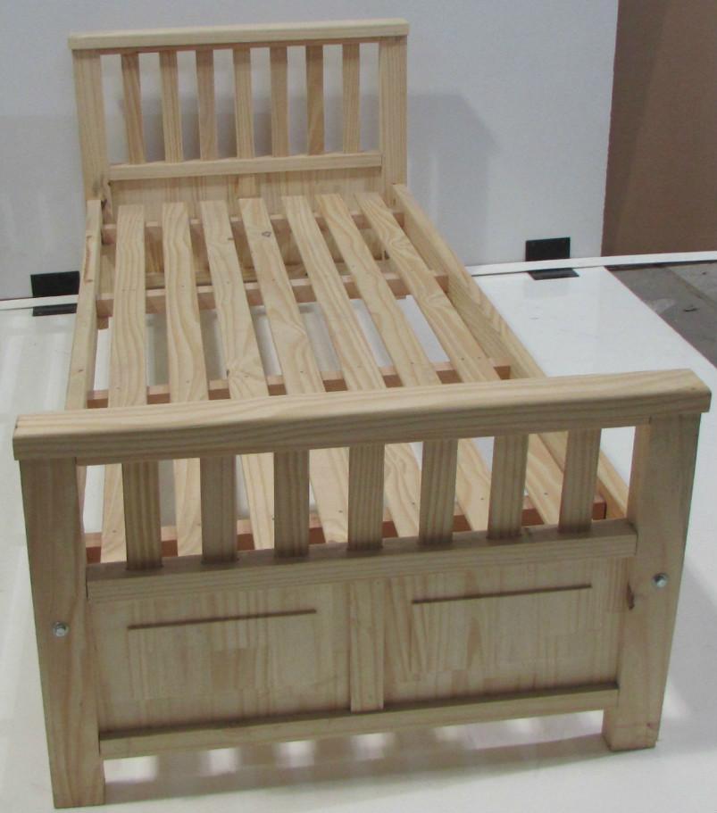 Catalogo de productos de placacentro maderas america en salta for Cama de una plaza