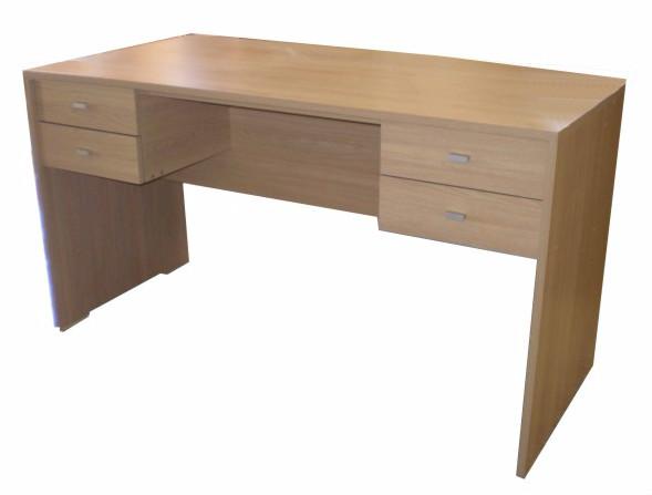 Producto escritorio de melamina corralon maderas america for Muebles de oficina juarez salta