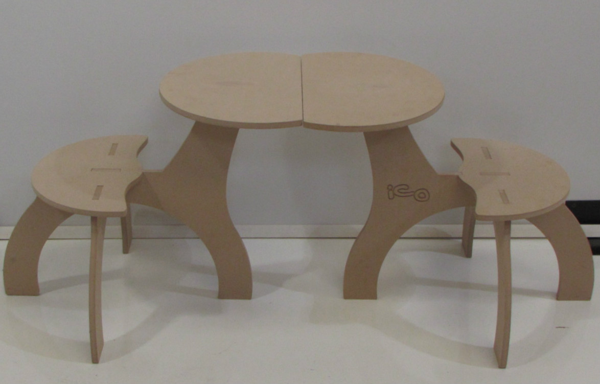 Producto mesa ico corralon maderas america corralon de for Muebles de oficina juarez salta