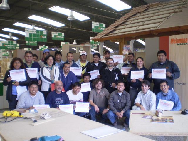 Cursos relacionados a la carpinteria placacentro maderas for Curso de carpinteria en melamina pdf