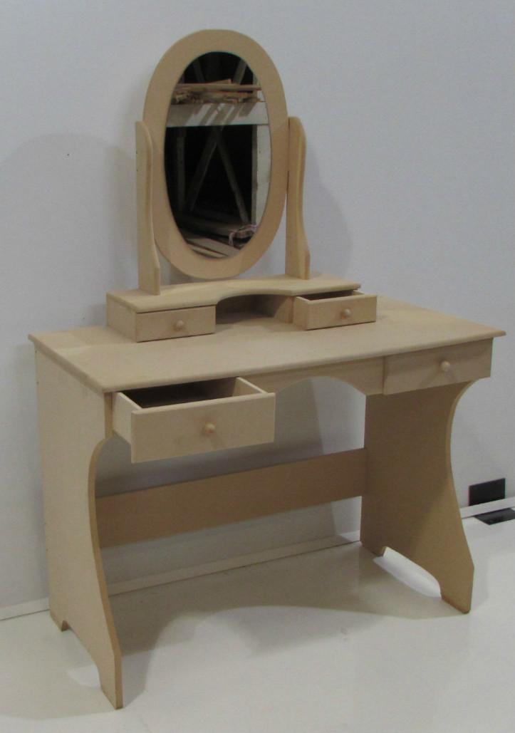 Espejos para tocador stunning espejo de madera para - Espejos de tocador con luz ...